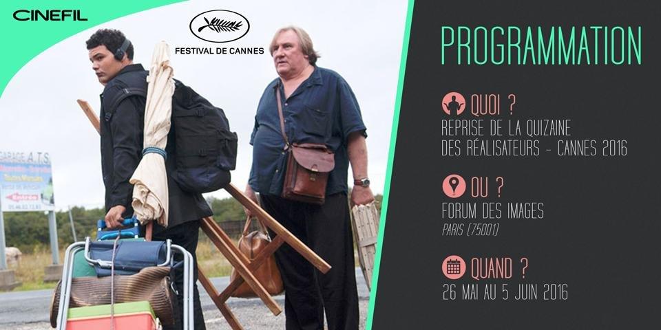 Découvrez les films de la Quinzaine des réalisateurs au Forum des Images