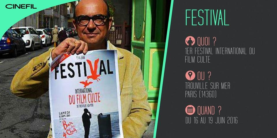 Karl Zéro crée le premier Festival International du film Culte à Trouville-Sur-mer