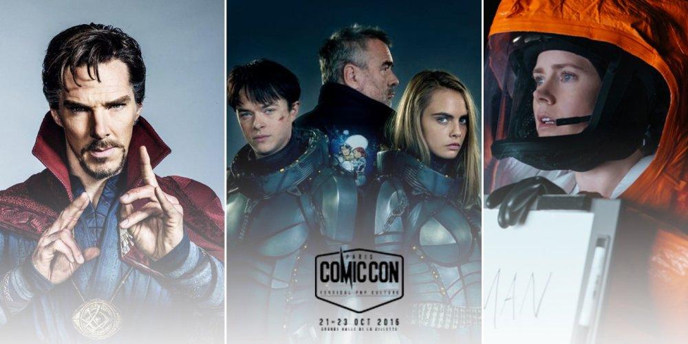 Docteur Strange, Valerian, Premier Contact... le programme cinéma et Web du Comic Con Paris 2016