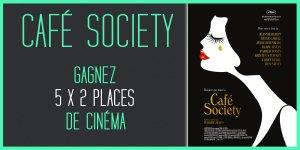Illustration du jeu concours Gagnez vos places pour le film CAFÉ SOCIETY, de Woody Allen