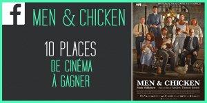 Illustration du jeu concours Gagnez vos places pour le film MEN & CHICKEN