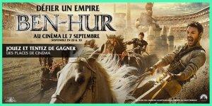 Illustration du jeu concours 10x2 places de cinéma à gagner pour le film Ben-Hur !