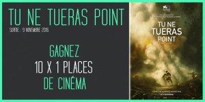 Illustration du jeu concours TU NE TUERAS POINT : gagnez vos places pour le nouveau film de Mel Gibson !