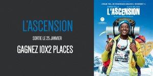 Illustration du jeu concours Gagnez vos places pour le film L'Ascension