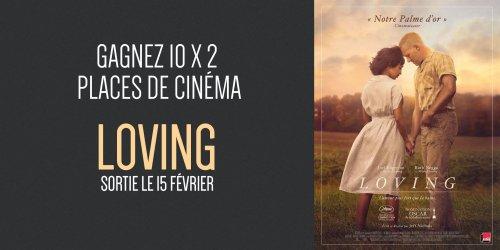 Illustration du jeu concours Gagnez vos places pour le film Loving