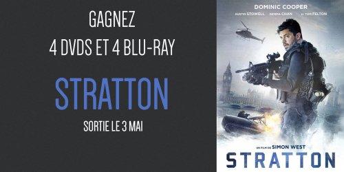 """Illustration du jeu concours Gagnez des DVD et Blu-ray du film """"Stratton"""""""