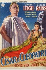 Affiche du film : Cesar et cleopatre