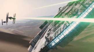 Affiche du film : Star Wars : Episode VII - Le Réveil de la Force