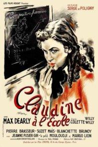 Affiche du film : Claudine a l'ecole