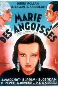 Affiche du film : Marie des angoisses