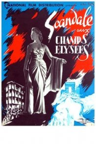 Affiche du film : Scandale aux champs elysees