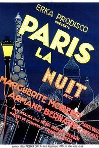 Affiche du film : Paris la nuit