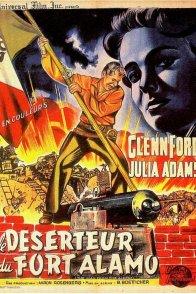 Affiche du film : Le deserteur de fort alamo