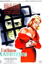 background picture for movie L'affaire maurizius