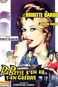 Affiche du film : Babette s'en va t'en guerre