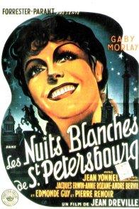 Affiche du film : Les nuits blanches de saint petersbou