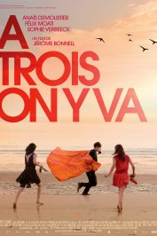 background picture for movie A trois on y va