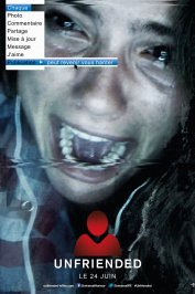 background picture for movie Unfriended