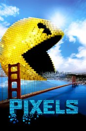 background picture for movie Pixels
