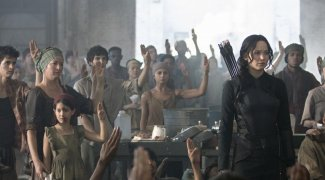 Affiche du film : Hunger games - La révolte : Partie 1