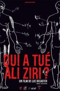 Affiche du film : Qui a tué Ali Ziri ?
