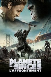 background picture for movie La planète des singes : l'affrontement