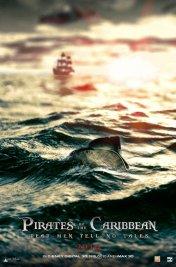 Affiche du film Pirates des caraibes 5