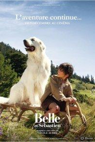 Affiche du film : Belle et Sébastien : l'aventure continue