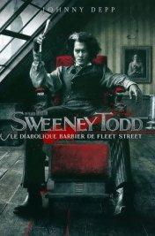 Affiche du film : Sweeney Todd, le diabolique barbier de Fleet Street