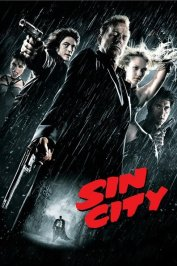 background picture for movie Sin City