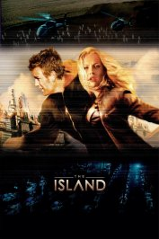 background picture for movie The island