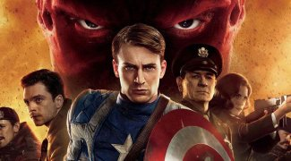 Affiche du film : Captain America : The first avenger