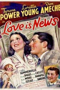 Affiche du film : L'Amour en première page
