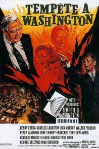 Affiche du film : Tempete a washington