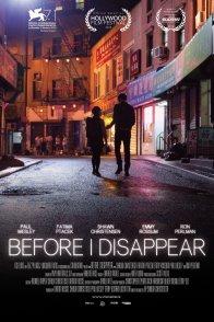 Affiche du film : Before I Disappear
