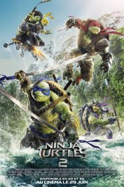 background picture for movie Ninja Turtles 2