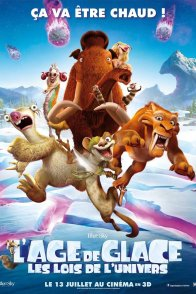 Affiche du film : L'Âge de glace : les lois de l'Univers