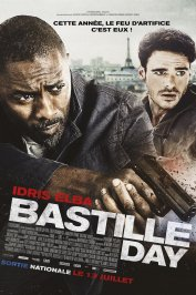 background picture for movie Bastille Day