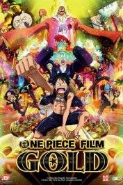 background picture for movie One Piece Gold