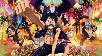 Affiche du film : One Piece Gold