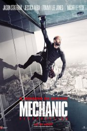 background picture for movie Mechanic : Resurrection