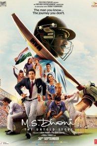 Affiche du film : M.S Dhoni - The Untold Story