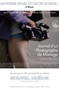 Affiche du film : Journal d'un photographe de mariage