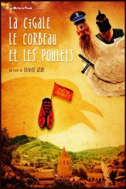 background picture for movie La Cigale, le corbeau et les poulets