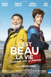 background picture for movie C'est beau la vie quand on y pense