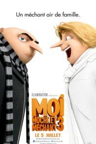 Affiche du film : Moi, Moche et Méchant 3