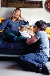 background picture for movie La robe bleue