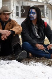 background picture for movie Wind River