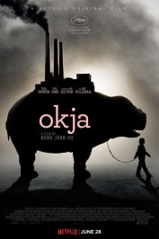 background picture for movie Okja