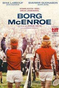 Affiche du film : Borg VS McEnroe